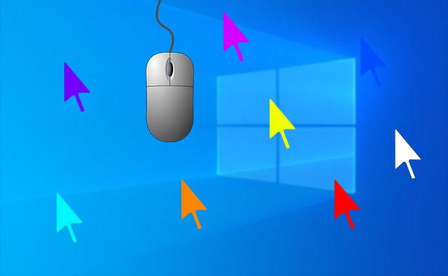 Como cambiar el puntero del mouse en Windows 10 14