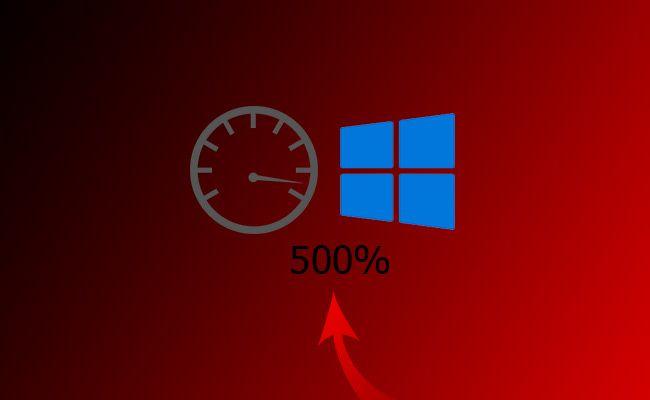 Como acelerar Windows 10