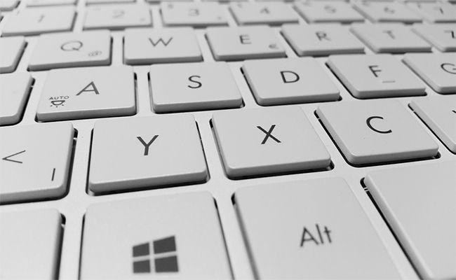Como apagar Windows 10 sin el mouse