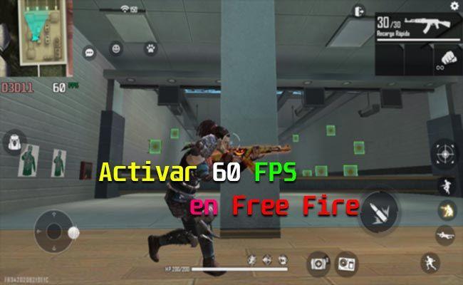 Activa los FPS altos en Free Fire ¡Juega al máximo!