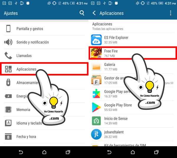 Cómo pasar o mover aplicaciones Android a la tarjeta SD 2