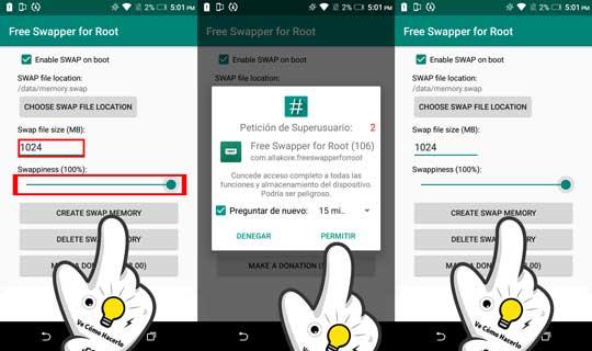 ¿Que es la memoria Swap en Android? 2