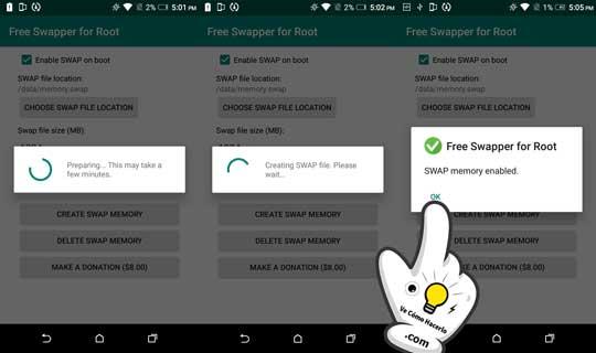 ¿Que es la memoria Swap en Android? 3