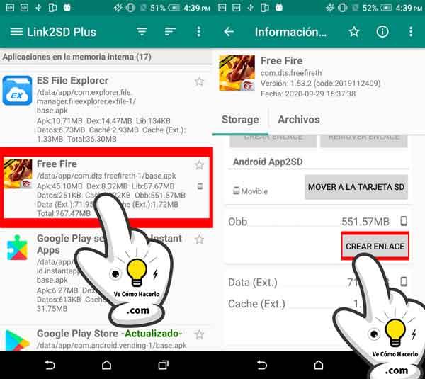 Cómo pasar o mover aplicaciones Android a la tarjeta SD 5
