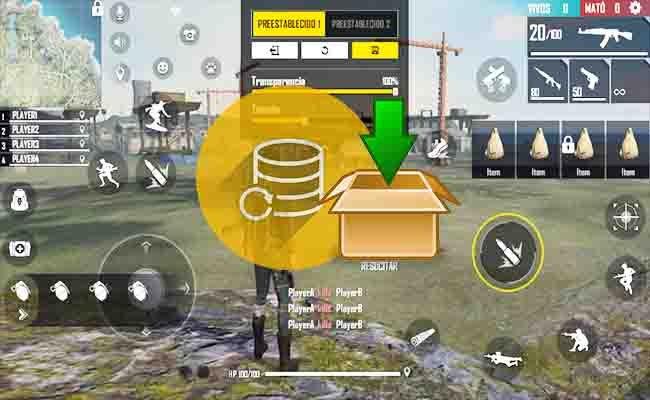 Cómo guardar configuración de controles en Free Fire